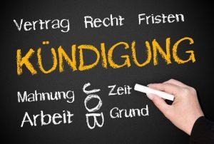 Arbeitsrecht Kündigung Vertrag Recht